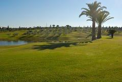Lake golf stock image
