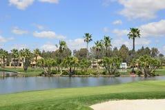 Lake golf Royalty Free Stock Photo