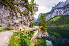 Lake Gosausee Stock Photography