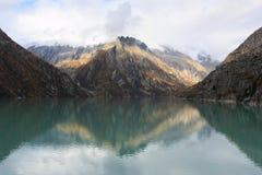 Lake Goscheneralp Royalty Free Stock Photo