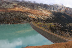 Lake Goscheneralp Royalty Free Stock Images