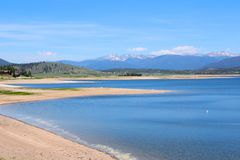 Lake Granby, Colorado Royalty Free Stock Image