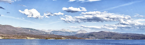 Lake Granby in Rocky Mountains, Colorado Stock Image
