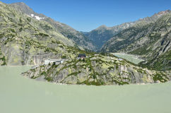 Lake Grimsel Stock Photography