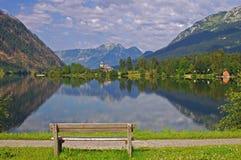 Lake Grundlsee,Austria Stock Image