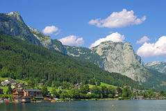 Lake Grundlsee,Austria Stock Photo