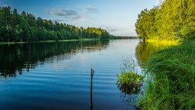 Lake Gruzinka. In the Vaskelovo Stock Photography