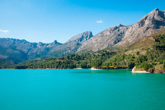Lake Guadalest Stock Image