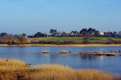 Lake in Gulf of Morbihan Stock Image