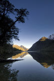 Lake Gunn, in Fiordland National park, South Island, New Zealand. Stock Photography