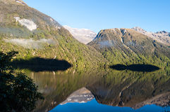 Lake Gunn, New Zealand Royalty Free Stock Photo
