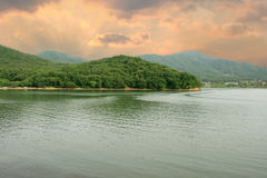 Lake Gwacheon Stock Image