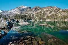 Lake Haiyaha, Rocky Mountains, Colorado, USA. Royalty Free Stock Image