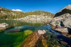 Lake Haiyaha, Rocky Mountains, Colorado, USA. Stock Photos