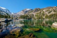 Lake Haiyaha, Rocky Mountains, Colorado, USA. Royalty Free Stock Photography