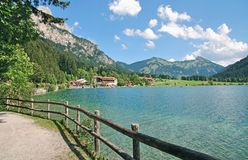 Lake Haldensee,Tirol,Tannheimer Tal,Austria Royalty Free Stock Photography