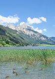 Lake Haldensee,Tirol,Tannheimer Tal,Austria Royalty Free Stock Photo
