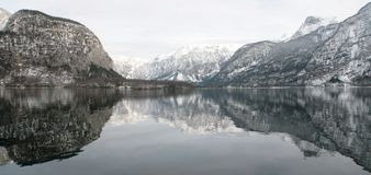 Lake Hallstatt - Austria Royalty Free Stock Photos