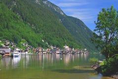 Lake Hallstatt,Austria Stock Photo