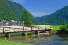 Lake Hallstatt,Austria Stock Images
