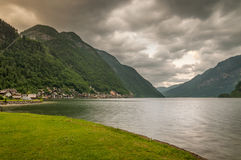 Lake in Hallstatt, Austria Royalty Free Stock Photography