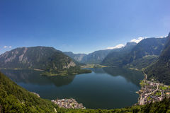 Lake Hallstatt View From Skywalk Stock Images