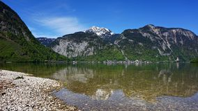 Lake Hallstattersee in Austria Royalty Free Stock Image