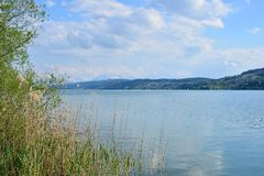 Lake Hallwil Switzerland Stock Photography