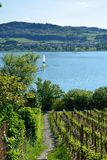 Lake Hallwil Switzerland Royalty Free Stock Image