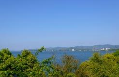 Lake Hamana in Shizuoka, Japan Stock Photo