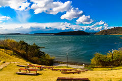 Lake Hamana in Shizuoka Prefecture is Japan's tenth largest lake Royalty Free Stock Images