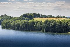 Lake Hancza. The deepest lake in central and eastern Europe. Poland Royalty Free Stock Images