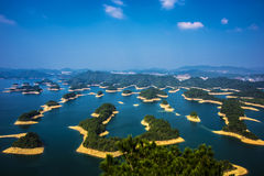 Lake in Hangzhou, Zhejiang stock photography
