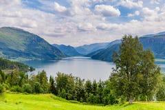 Lake Haukedasvatnet Norway Royalty Free Stock Photo