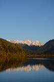 On Lake Haupiri Stock Images
