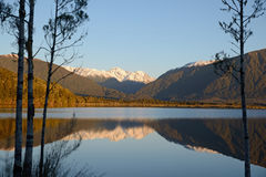 On Lake Haupiri Royalty Free Stock Photography