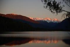 On Lake Haupiri Stock Photo