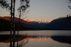 On Lake Haupiri Stock Image
