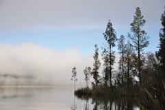 Lake Haupiri morning stock photos