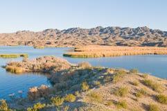 Lake Havasu. South of  City, Arizona royalty free stock image
