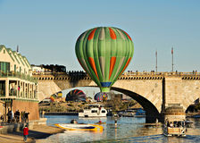 Lake Havasu Balloon Fest Stock Image