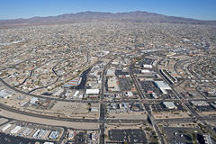 Lake Havasu City. Aerial view of Lake Havasu City, Arizona stock photos
