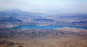 Lake Havasu and the Colorado River Royalty Free Stock Photo