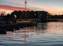 Lake Havasu ståtar av ljus royaltyfri foto