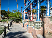 Lake Havasu walkway Royalty Free Stock Images