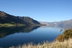Lake Hawea, New Zealand. Lake Hawea in South island, New Zealand royalty free stock photography