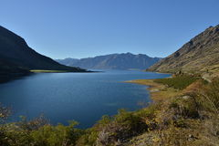 Lake Hawea, New Zealand Royalty Free Stock Image