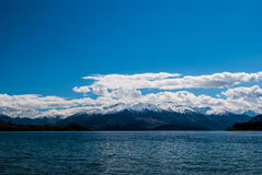 Lake Hawea , Otago, New Zealand Stock Photo
