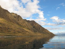 Lake Hawea Shore Royalty Free Stock Photo
