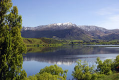 Lake Hayes - Arrowtown Stock Image